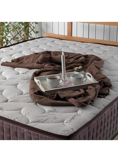 US. SLEEPING Full Ortopedik Bamboo Classic Yaylı Yatak  Kahve